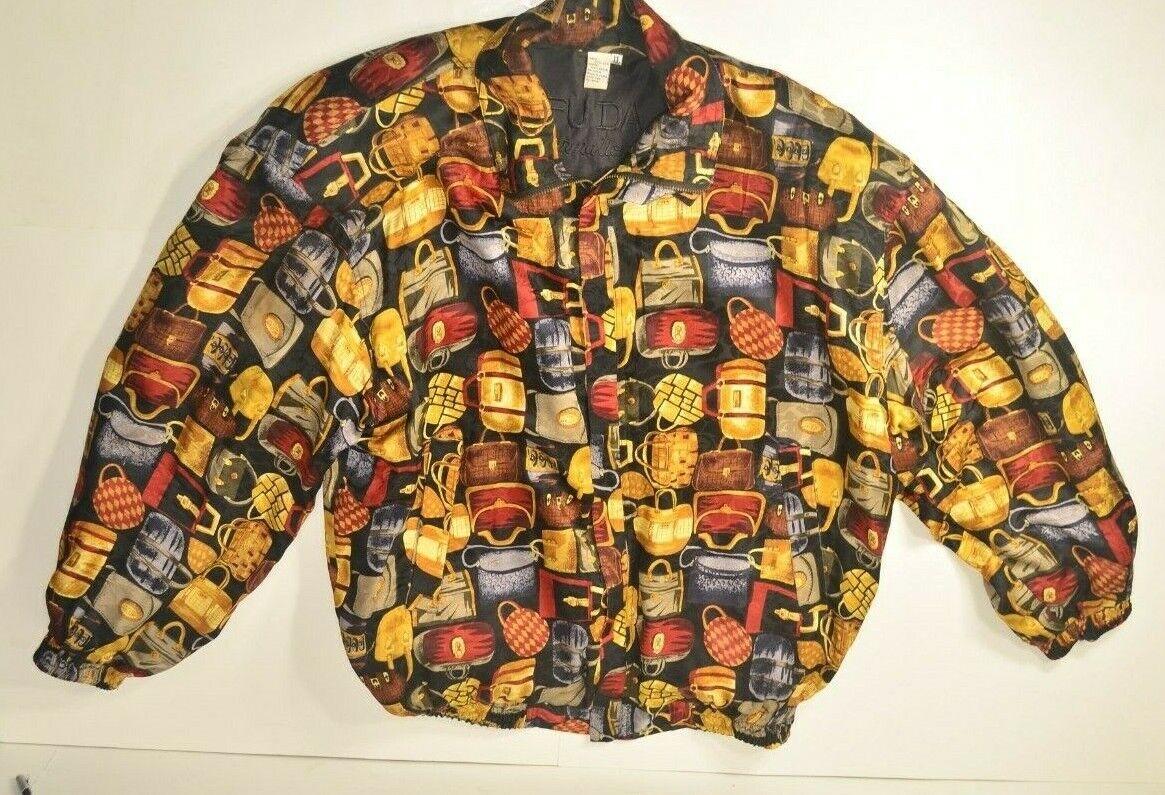 VINTAGE Fuda International Women's 100% Silk Jack… - image 5