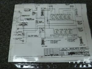 grove tms800b crane hydraulic schematic & electrical wiring diagram manual  | ebay  ebay