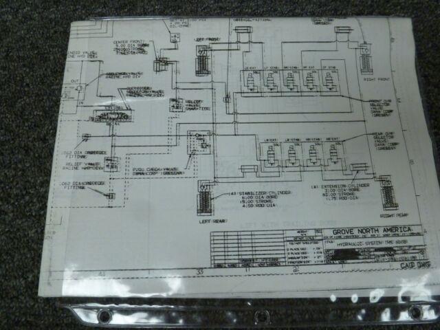 Grove Tms800b Crane Hydraulic Schematic  U0026 Electrical