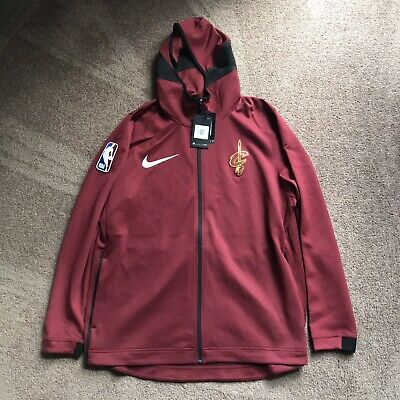 NWT Nike Cleveland Cavaliers Therma Flex Showtime Hoodie sz M jacket 940120 677