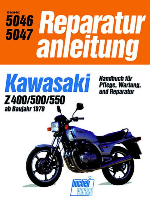 Kawasaki Z400  MRA 5046  POD