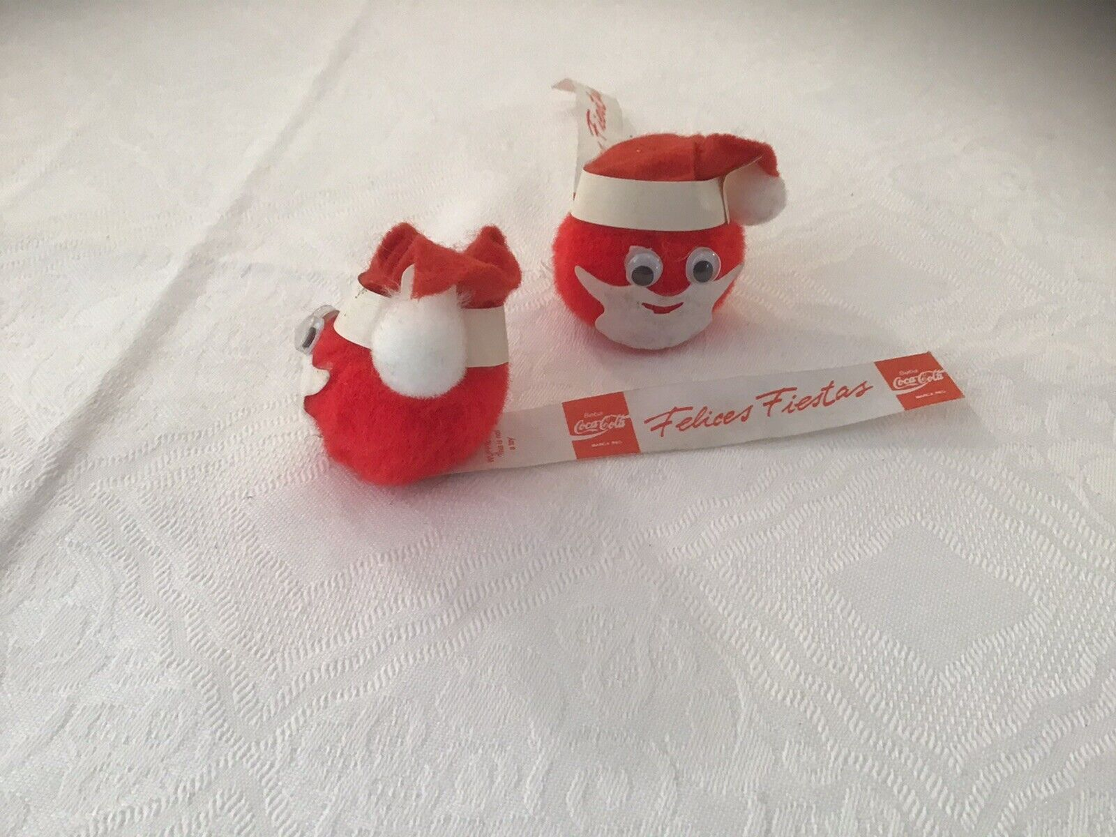 Vintage Wuppie Netherlands For Coca-Cola Coke Spain Christmas Promotions