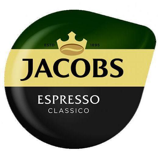 8X Tassimo Jacobs Expreso Classico T Discos Cápsulas Vendido Suelto - 8 Bebidas