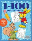 1-100 Dot-to-Dots by Steve Harpster (2003, Paperback)