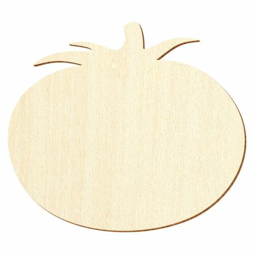 Holz Tomate 3-50cm Breite Deko Zuschnitte