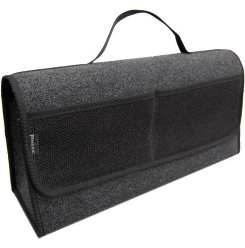 Kofferraumtasche Auto Tasche Zubehörtasche in SCHWARZ passend für Skoda