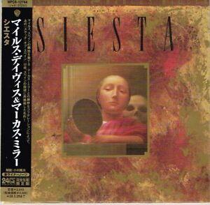 Miles-Davis-Marcus-Miller-034-Music-From-Siesta-034-Japan-LTD-Mini-LP-CD-w-OBI