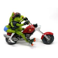 Formano Deko Frosch Froschpaar Biker Motorrad Shopper Geschenk weiß