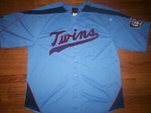 ROD CAREW MINNESOTA TWINS NEW MLB MAJESTIC COOPERSTOWN JERSEY