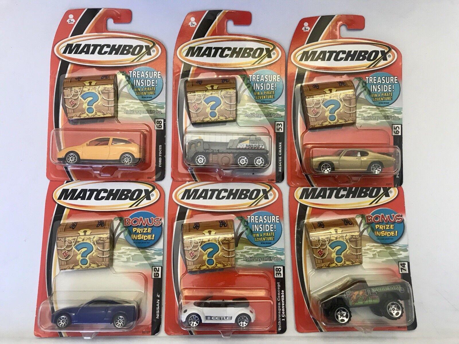 Matchbox 2005  Lot Treasure Bonus Lot Of 24