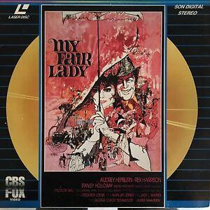 MY-FAIR-LADY-WS-VO-ST-PAL-LASERDISC-Audrey-Hepburn-Rex-Harrison-Stanley-Hollow