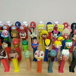Various Pez Singles - Select from Menu - Flat Unlimited $4.50 Shipping Rate