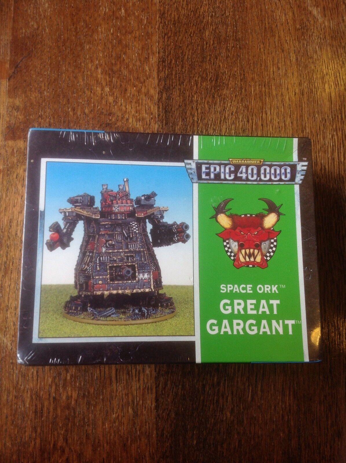 Warhammer Epic 40,000. Space Ork Great gargant. Métal & scellé.