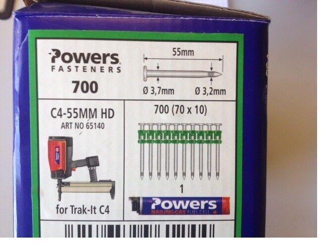 Powers HD C4 Nägel 65140     | Exquisite (mittlere) Verarbeitung