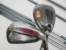 New Cobra F6 Combo Iron set 3h-GW Graphite Senior Red Tie Irons 3/4h+4/5h6-PW+GW