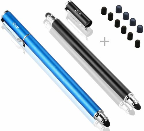 2-in-1 Stylus//Styli 5.5-inch L  2 P Touch Stylus Pen 0.18-inch Small Tip Series