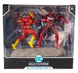 "DC Multiverse ""Flash Vs Earth 2 Batman""   NEW FREE SHIPPING  30 DAY RETURNS"