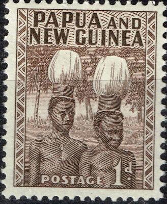 Herzhaft Papua Neu Guinea Kultur Ethnicities Native Men Briefmarke 1930 Mnh BüGeln Nicht Motive