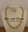 Multi-Beaded-Glass-Pearl-Necklace-with-Matching-Earrings