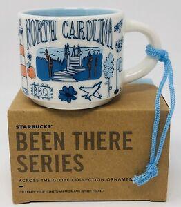 NEW-Starbucks-Coffee-2oz-NORTH-CAROLINA-Been-There-Series-MIni-Mug-Ornament