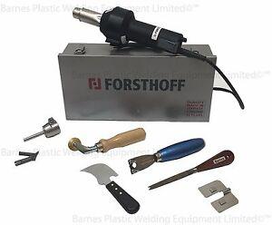 230v Forsthoff Oval Q Vinyl Floor Hot Air Welding Kit