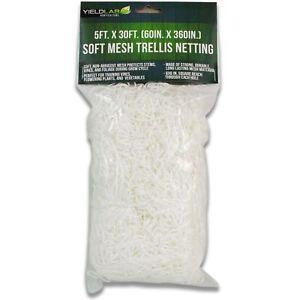 Soft Mesh Trellis Netting 5ft X 30ft 60in X 360in For