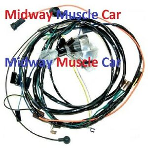 details about hei engine wiring harness 71 1971 chevy chevelle malibu el camino monte carlo 2018 Monte Carlo SS