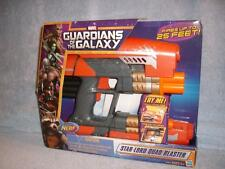 Star-Lord Quad Blaster Marvel Hasbro Nerf Guardians of the Galaxy 2013 New