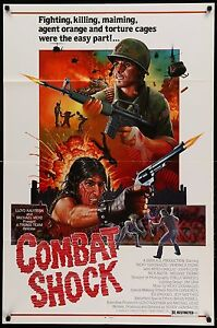 COMBAT-SHOCK-1986-Movie-Poster-27x41RARE-MoviePoster-BMovie-Grindhouse-Troma