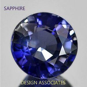 Precious Stone Australian Sapphire Round Gemstone Blue Sapphire Diamond cut 5Pcs DIAMOND CUT 3.5mm Natural Sapphire Round  Gemstone