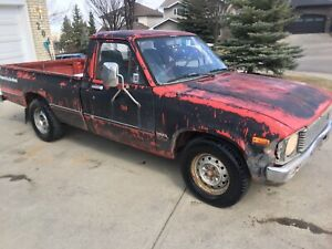 1981 Toyota Other Pickups 1/2 Ton Diesel