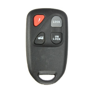 4 Buttons Remote Key Keyless Entry Alarm For Mazda 6 2003 2004 2005