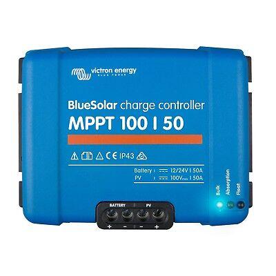 Solar Panels Good Victron Bluesolar Mppt 100/50 50a Solar Charge Controller Solar Panels Max 100v Fancy Colours