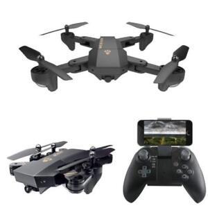 Visuo Rc Drones Xs809hw Pliable Quadcopter Mini Hélicoptère & Caméra Wifi Fpv
