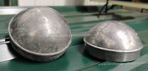 2-3-8-034-2-1-2-034-Aluminum-Dome-End-Post-Cap-Terminal-cap-for-chain-link-fence