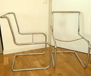alt freischwinger bauhaus stahlrohr stuhl breuer thonet. Black Bedroom Furniture Sets. Home Design Ideas