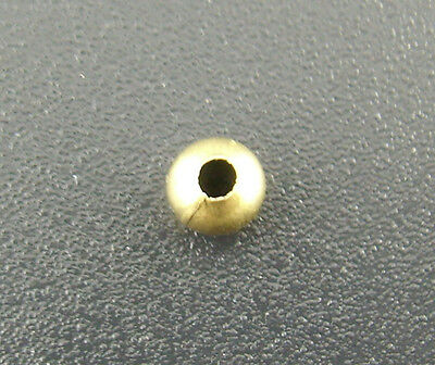 500 Antik Bronze glatt Kugel Spacer Perlen Beads D.4mm