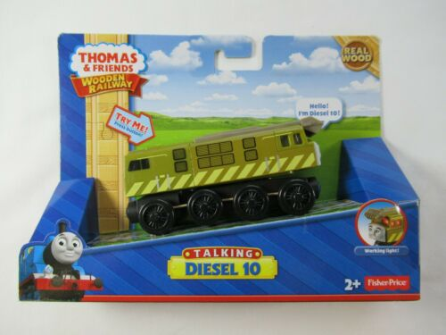 Thomas /& Friends Talking Diesel 10 for Wooden Railway System