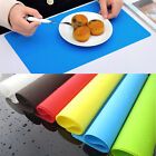 Multifunctional Kitchen Silicone Dining Placemat Adiabatic Bakeware Rolling Mat