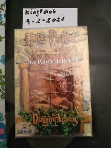 Harry-Potter-two-players-starter-set-deck-DIAGON-ALLEY-wotc-factory-sealed