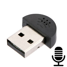 Mini USB Microphone Wireless Mic Audio Adapter Driver for MSN
