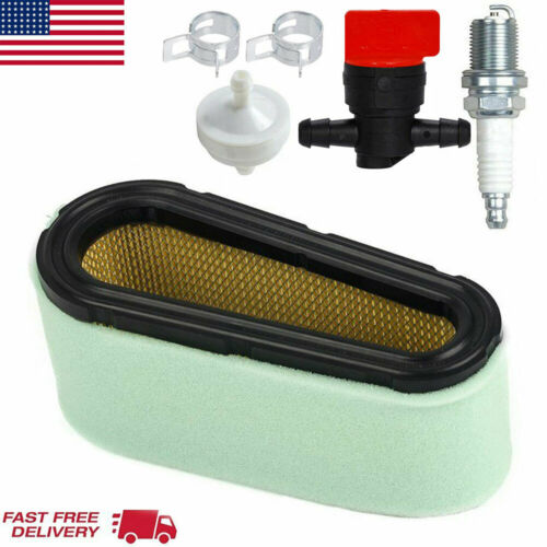 Air Filter Fuel /& Spark Plug Fit For Briggs /& Stratton 496894  272403S 12.5-17HP