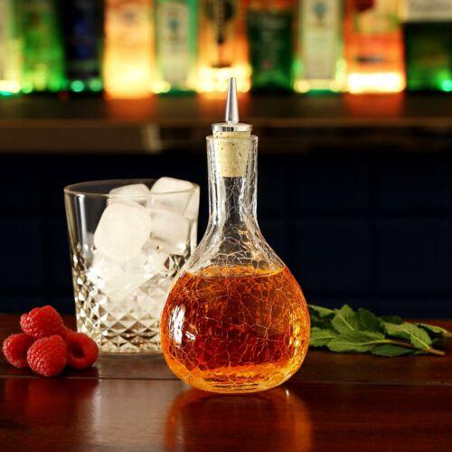 vinagre botella de aceite CRISTAL CRAQUEADO Dash Drizzler 11.6//oz//330mlDrizzler