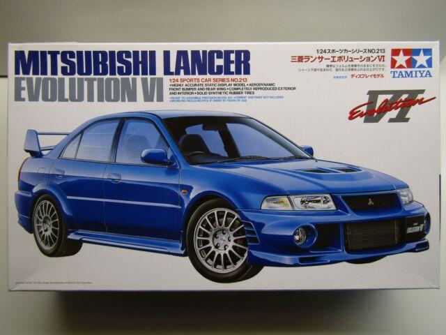 Tamiya 24213 1/24 Mitsubishi Lancer Evolution VI Model Kit