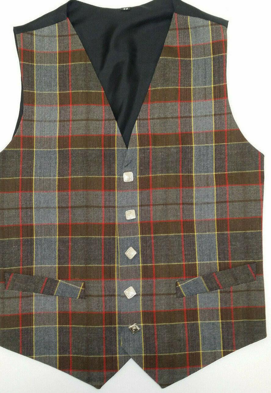 Jamie Fraser Tartan waistcoat vest 4 Kilts SALE usually now to clear