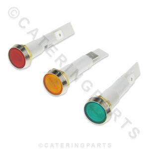 10mm montage encastré rouge jaune vert lumière ROND 230V indicateurs néon 4VuYzVT3-07141650-209725859