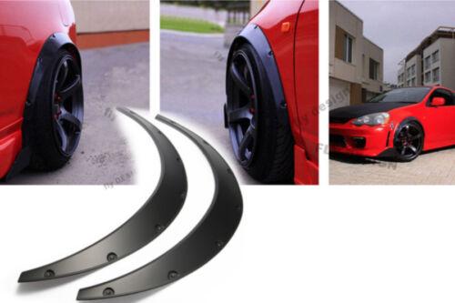 Set Wheel Barrel Extensions Arch Strips Mudguard 74cm VW Tiguan Touareg 2 Pcs
