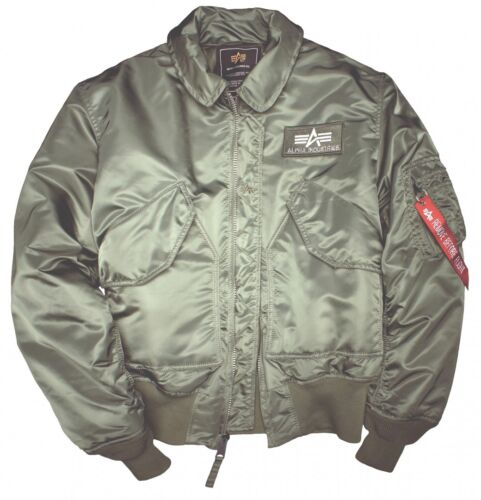 Cwu Herren Jacket Xl S Men Xxl 3xl L 45 M Flieger Jacke Industries Bomber Alpha tSwx1H5
