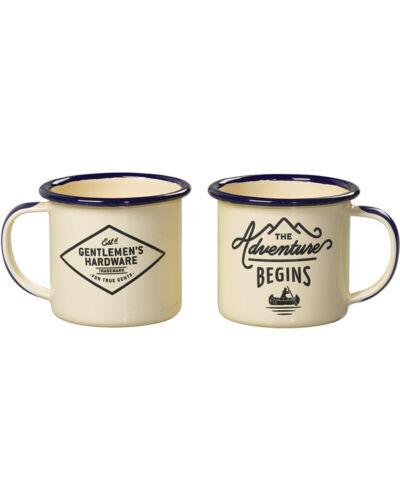 Set of 2 Cookware Gentlemen/'s Hardware Double Espresso Mugs