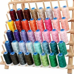 RAYON MACHINE EMBROIDERY THREAD SET C  BIG 1000M CONES